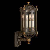 Classic/Traditional Beekman Place Outdoor Wall Lantern - Fine Art Lamps 564681