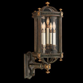 Classic/Traditional Beekman Place Outdoor Wall Lantern - Fine Art Lamps 564781