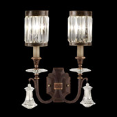 Classic/Traditional Eaton Place Crystal Wall Sconce - Fine Art Lamps 583050