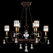 Crystal Eaton Place Oval Chandelier - Fine Art Lamps 583840
