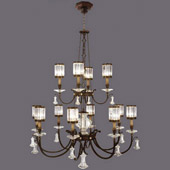 Crystal Eaton Place Large Chandelier - Fine Art Lamps 584740