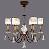 Crystal Eaton Place Chandelier - Fine Art Lamps 595440