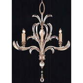 Crystal Beveled Arcs Chandelier - Fine Art Lamps 701040ST