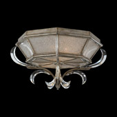 Crystal Beveled Arcs Ceiling Light Fixture - Fine Art Lamps 704240ST