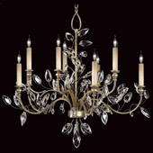 Crystal Crystal Laurel Chandelier - Fine Art Lamps 753140