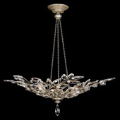 Crystal Crystal Laurel Large Inverted Pendant - Fine Art Lamps 753740