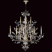 Crystal Crystal Laurel Grand Chandelier - Fine Art Lamps 771140