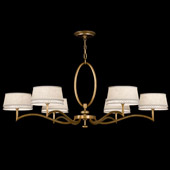 Contemporary Allegretto Round Gold Chandelier - Fine Art Handcrafted Lighting 771740-2