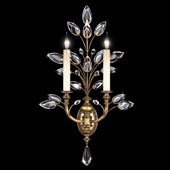Crystal Crystal Laurel Gold Wall Sconce - Fine Art Lamps 773150
