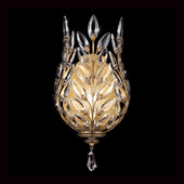 Crystal Crystal Laurel Gold Smaller Wall Sconce - Fine Art Lamps 773850