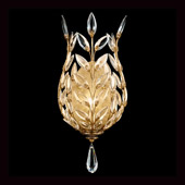 Crystal Crystal Laurel Gold Wall Sconce - Fine Art Lamps 773950