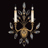 Crystal Crystal Laurel Gold Wall Sconce - Fine Art Lamps 775250