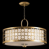 Contemporary Allegretto Gold Pendant - Fine Art Handcrafted Lighting 780140-2