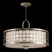 Contemporary Allegretto Silver Pendant - Fine Art Handcrafted Lighting 780140