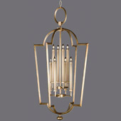 Contemporary Allegretto Gold Lantern - Fine Art Handcrafted Lighting 780440-2