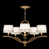 Contemporary Allegretto Gold Chandelier - Fine Art Handcrafted Lighting 785440-2
