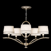 Contemporary Allegretto Silver Chandelier - Fine Art Handcrafted Lighting 785440