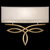 Contemporary Allegretto Gold ADA Wall Sconce - Fine Art Handcrafted Lighting 785650-2
