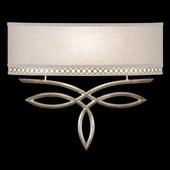 Contemporary Allegretto ADA Silver Wall Sconce - Fine Art Handcrafted Lighting 785650