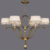 Contemporary Allegretto Gold Chandelier - Fine Art Handcrafted Lighting 785840-2