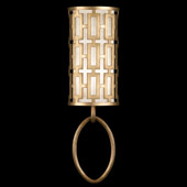 Contemporary Allegretto Gold Wall Sconce - Fine Art Handcrafted Lighting 787450-2