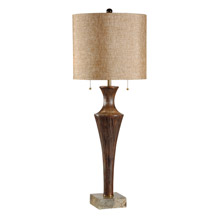 Frederick Cooper 65390 Scored Fountain Tall Table Lamp