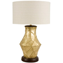 Frederick Cooper 65133 Fractura Oro Table Lamp