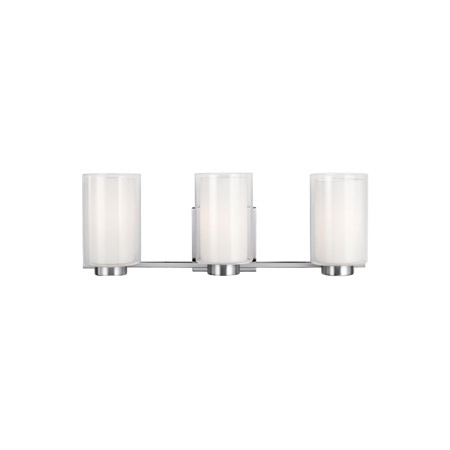 Feiss VS22603SN Bergin 3 - Light Vanity