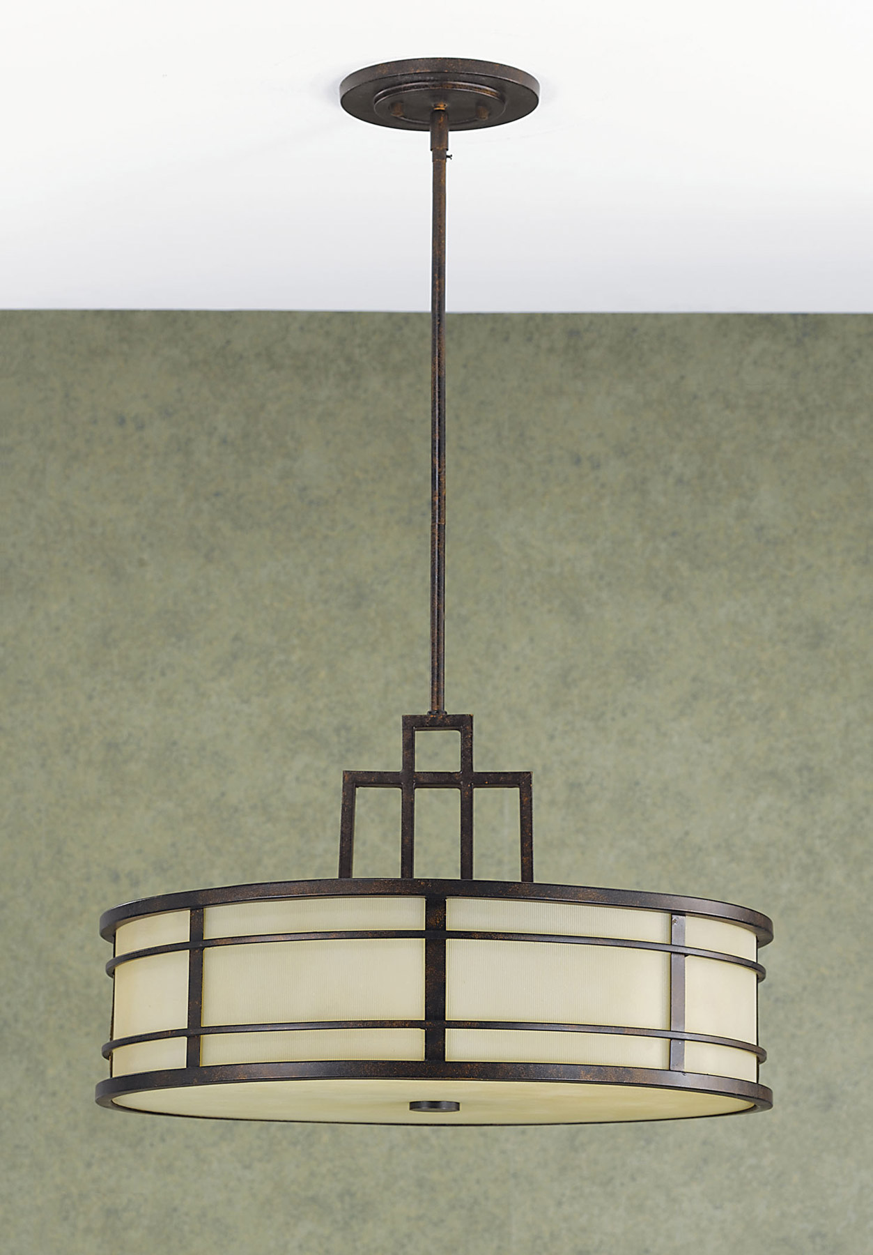 Feiss F2081/3GBZ Fusion Hanging Pendant Light