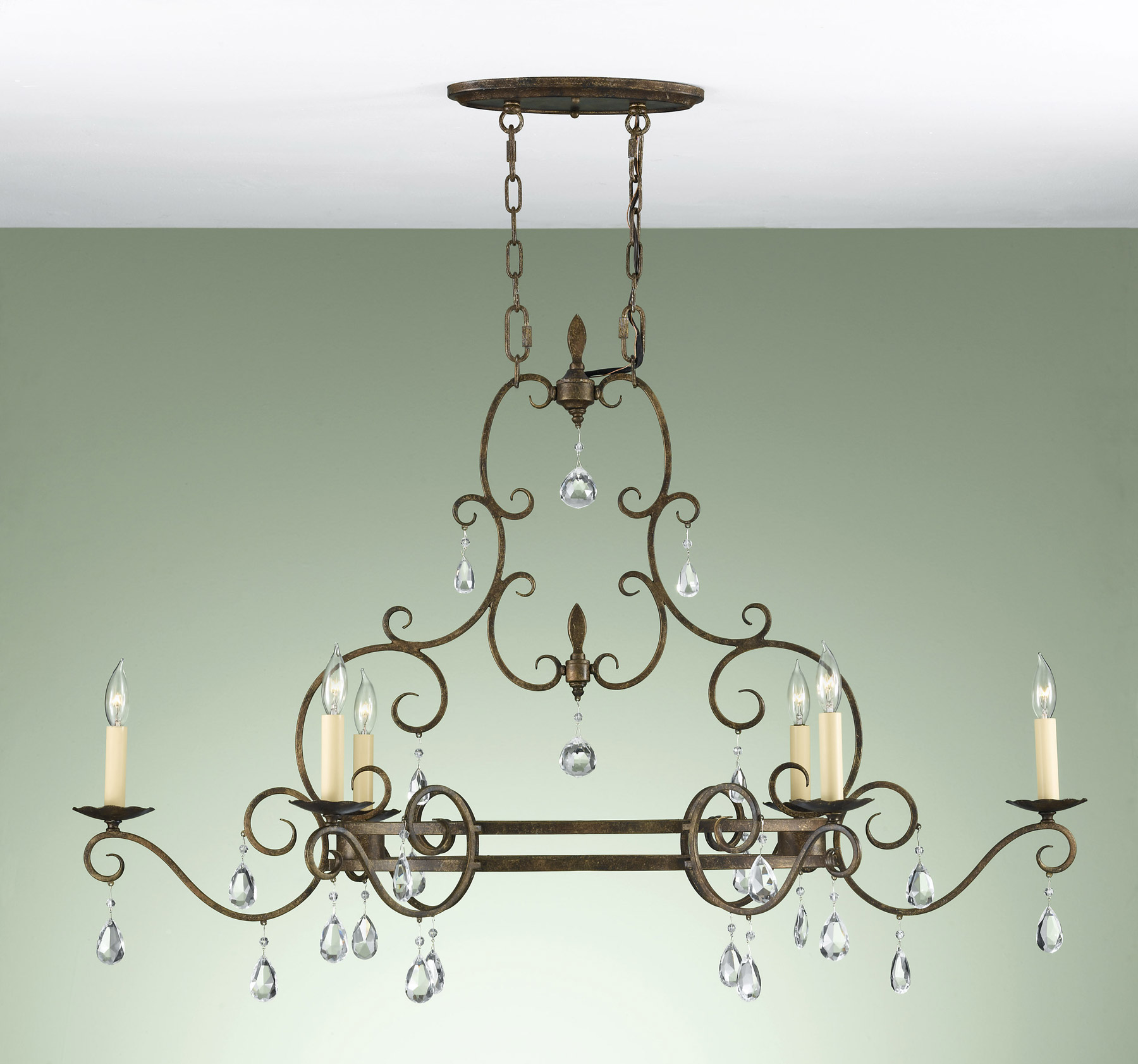 F23046mbz crystal chateau chandelier feiss f23046mbz crystal chateau chandelier aloadofball Gallery