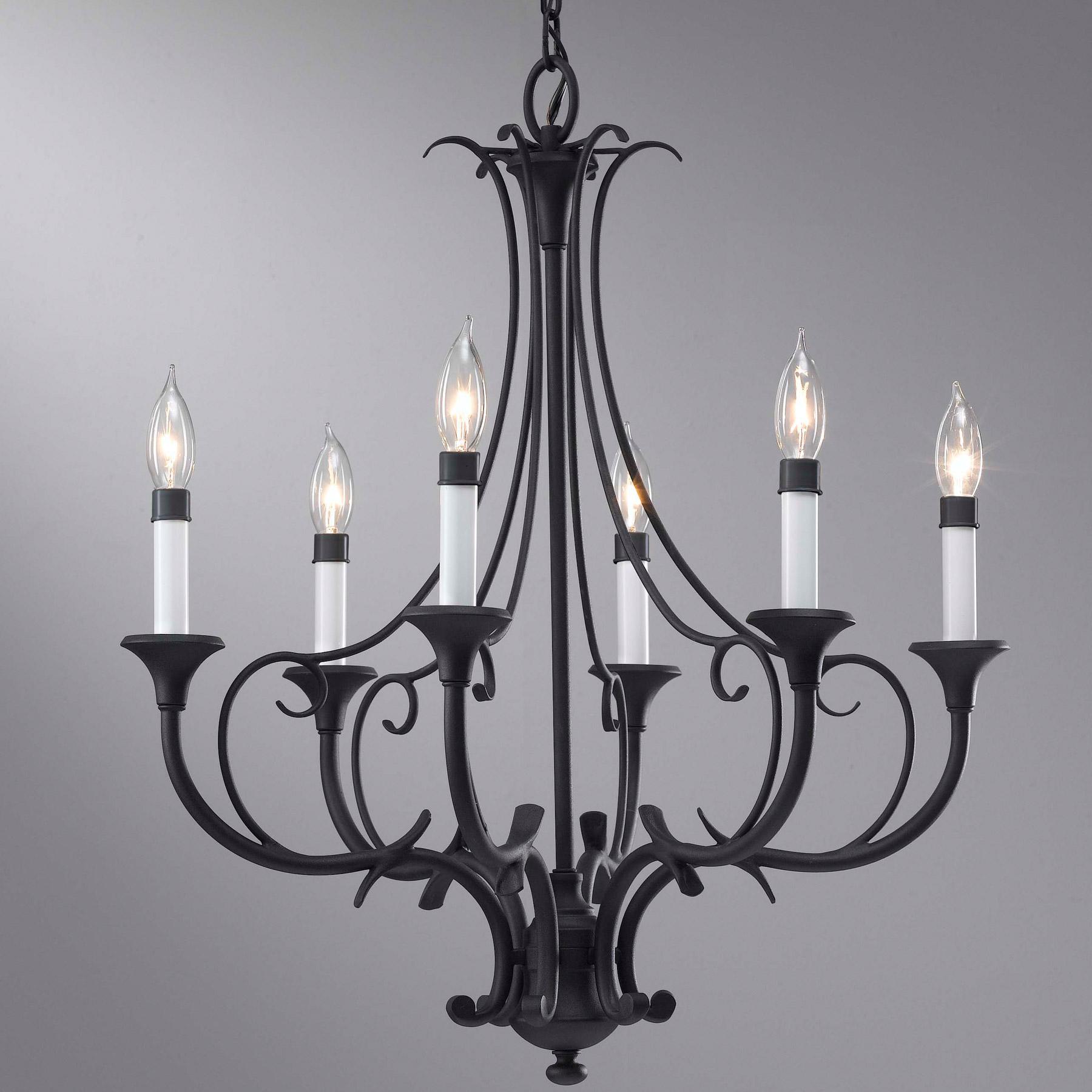 F25336bk peyton six light chandelier feiss f25336bk peyton six light chandelier arubaitofo Choice Image