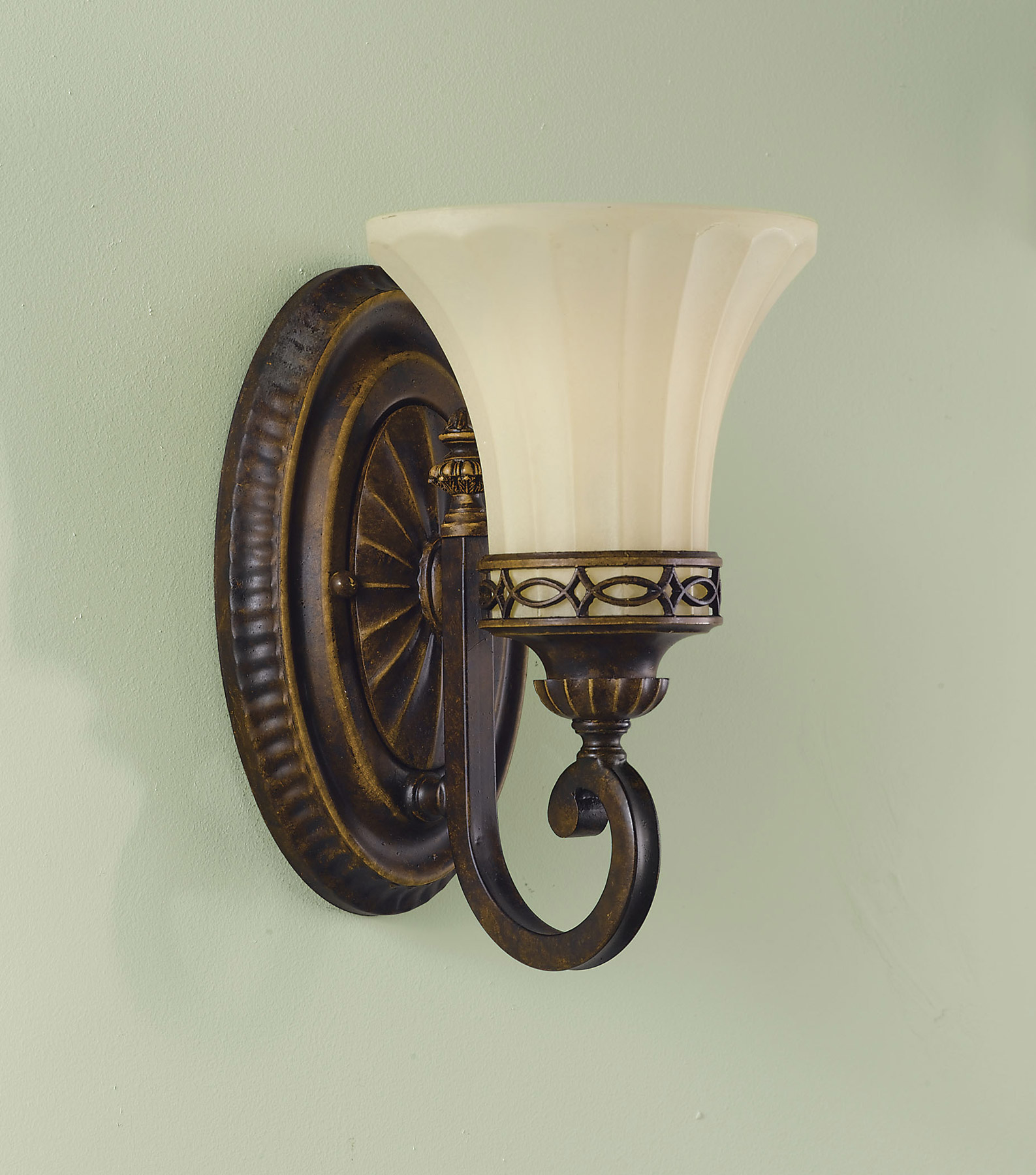Feiss VS11201-WAL Edwardian Vanity Light