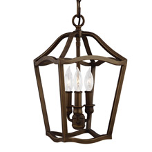 Feiss F2974/3PAGB Yarmouth 3 - Light Foyer