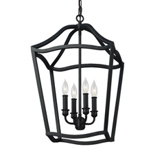 Feiss F2975/4AF Yarmouth 4 - Light Foyer