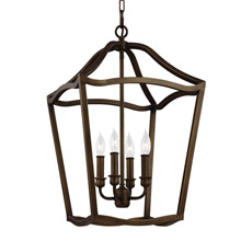 Feiss F2975/4PAGB Yarmouth 4 - Light Foyer