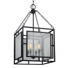 Feiss F3036/4DWZ Prairielands 4 - Light Pendant Lantern