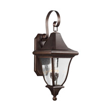 Feiss OL13103PTBZ Oakmont 4 - Light Outdoor Wall Lantern