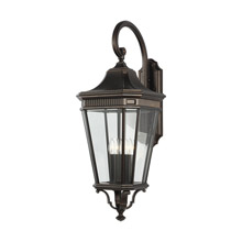 Feiss OL5405GBZ Cotswold Lane 4 - Light Outdoor Wall Lantern
