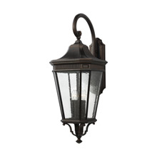 Feiss OL5426GBZ Cotswold Lane 4 - Light Outdoor Wall Lantern