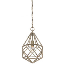 Feiss P1313BUS Crystal Marquise 1 - Light Mini Pendant