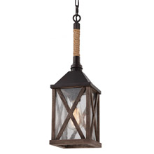 Feiss P1326DWO/ORB Lumiere 1 - Light Mini Pendant