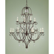 Feiss F1938/8+4MBZ Chateau Twelve Light Chandelier