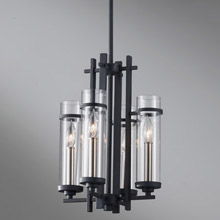 Feiss F2627/4AF/BS Ethan Four Light Chandelier