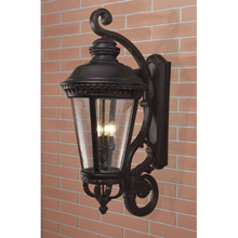 Feiss OL1905BK Castle Outdoor Wall Lantern