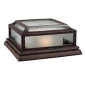 Transitional Shepherd 2 - Light Outdoor Flush - Feiss OL10613HTCP