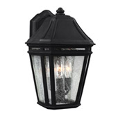 Transitional Londontowne 3 - Light Outdoor Sconce - Feiss OL11301BK