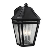 Transitional Londontowne 3 - Light Outdoor Sconce - Feiss OL11302BK