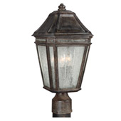 Transitional Londontowne 3 - Light Outdoor Post - Feiss OL11307WCT
