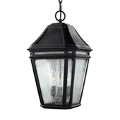 Transitional Londontowne 3 - Light Outdoor Pendant - Feiss OL11311BK