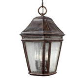 Transitional Londontowne 3 - Light Outdoor Pendant - Feiss OL11311WCT